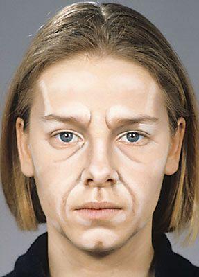 älter schminken Frau Alt schminken Theater Bühne 33