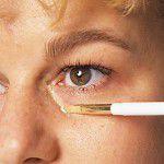 Augenschatten abdecken Camouflage Make-up schminken