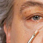 Augenringe abdecken Camouflage Make-up schminken