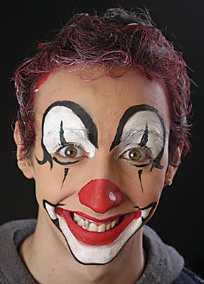 Clown schminken 16