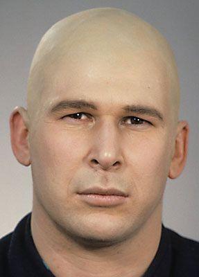 Glatze kleben 25