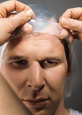 Glatze kleben 8