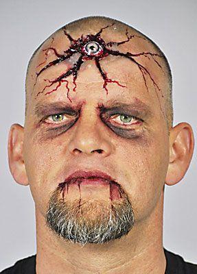 Halloween schminken Drittes Auge 25