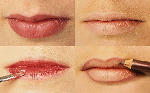 Anleitung Lippen schminken 5