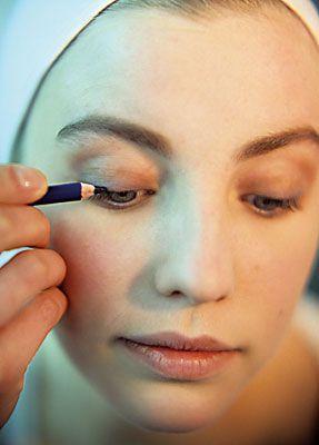 natürliches Make-up Augen schminken anleitung 10