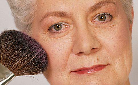 Reife Haut schminken Make up 9