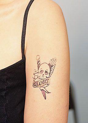 Tattoowierung abdecken schminken camouflage 1