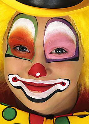 clown schminken 12
