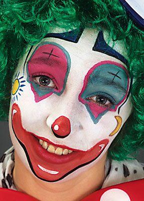 Clown schminken Anleitung 20