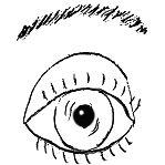 vorstehendes-Auge