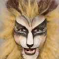 Löwe schminken Anleitung