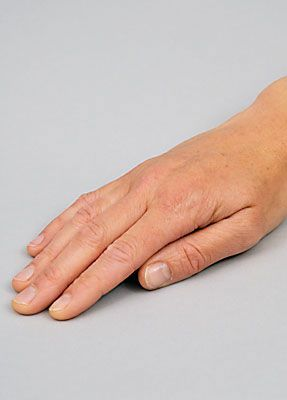 Wunde Finger schminken 1