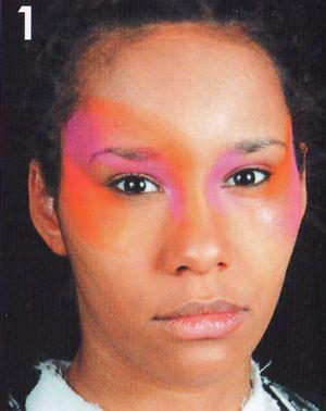 blumen schminken beim Kinderschminken 1