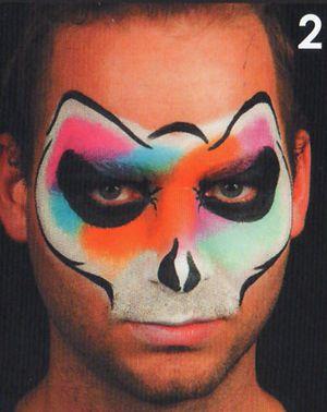 Horror Masken Schminkanleitung Kinderschminken Halloween 2
