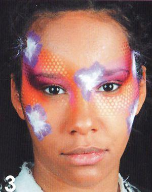 blumen schminken beim Kinderschminken 3