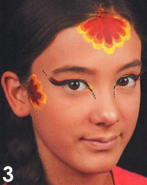 Kinderschminken Prinzessin schminken Schminkanleitung 3