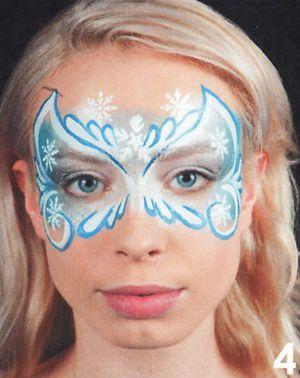 Eisprinzession Kinderschminken Schminken Anleitung Tipps Motive