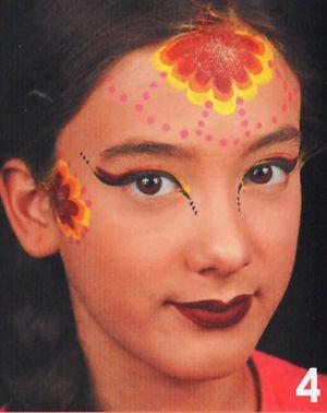 Kinderschminken Prinzessin schminken Schminkanleitung 4