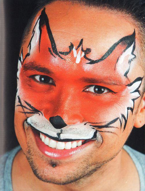 Karneval Schminken Tiere : kinderschminken fuchs schminken schminken anleitung tipps motive vorlagen ~ Frokenaadalensverden.com Haus und Dekorationen