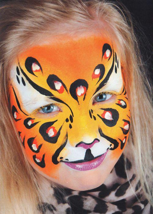 Kinderschminken Panther schminken Schminkanleitung 5