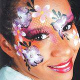 Schminkanleitung Blumen schminken