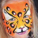 Kinderschminken Panther schminken