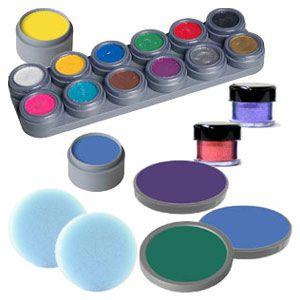Kinderschminken Schminkanleitung Schminkvorlagen schminkfarben