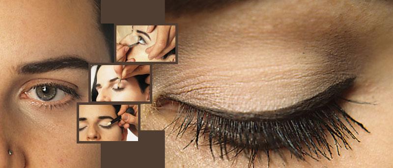 augen richtig schminken schminken anleitung tipps motive