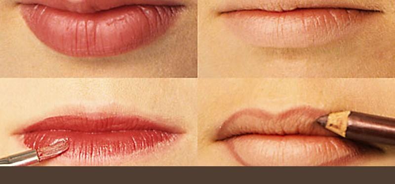 Lippen perfekt schminken