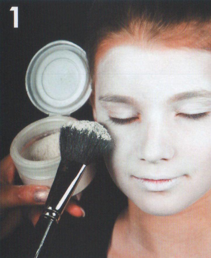 Sugar Skull Grundierung schminken