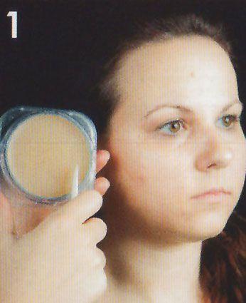 Zipper Face Augenbrauen wegschminken