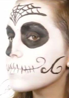 Sugar Skull Spain Verzierungen schminken