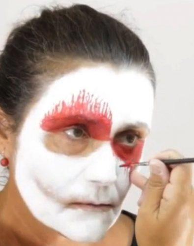 Den Horror Terror Grusel Clown Schminken Schminken Anleitung Tipps
